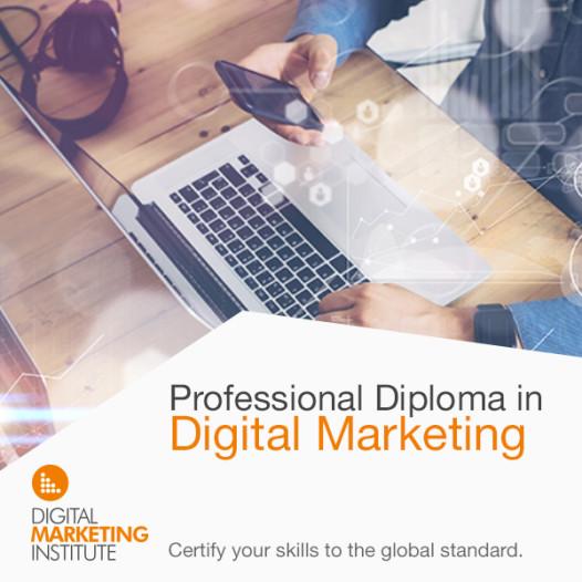 Professional Diploma in Digital Marketing Q1 2017
