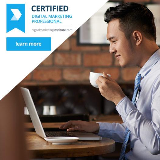 Certified Digital Marketing Professional Q2 2017