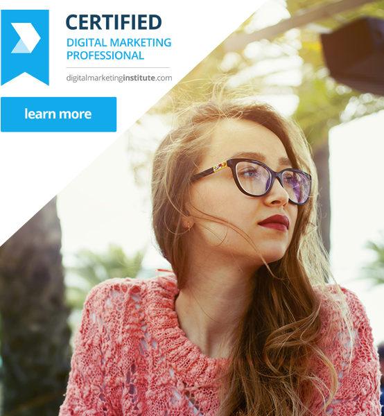 Certified Digital Marketing Professional Q3 2017