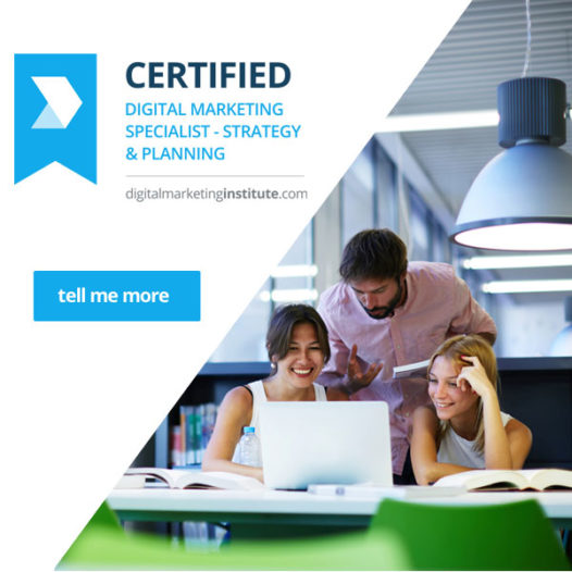 Certified Digital Marketing Specialist in Strategy and Planning