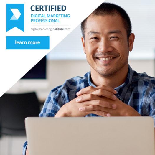 Certified Digital Marketing Professional Q1 2018