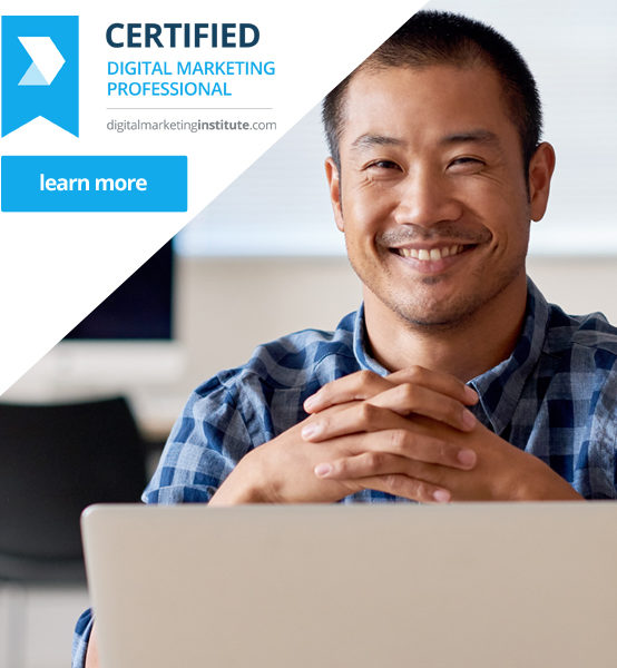 Certified Digital Marketing Professional Q1 2018
