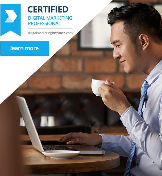Certified Digital Marketing Professional Q4 2017